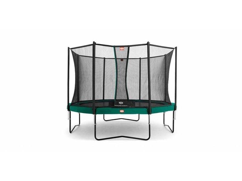 BERG Trampoline Champion Regular 330 + Safety Net Comfort Groen