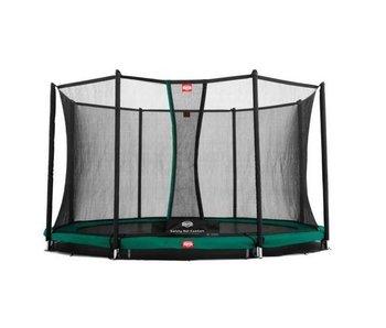 BERG Champion InGround 270  + Safety Net Comfort Groen