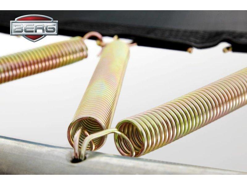 BERG Elite Inground Trampoline 430 Grijs/Groen/Rood