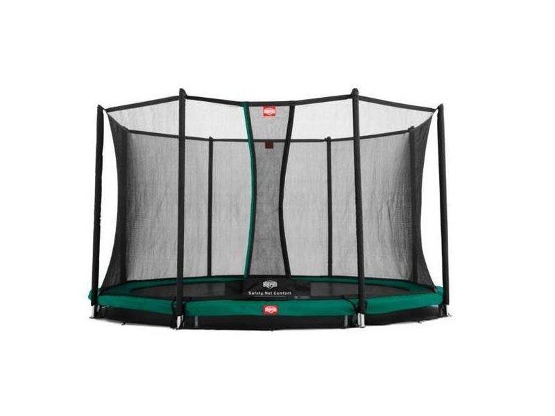 BERG Trampoline Champion InGround 380 + Safety Net Comfort Groen