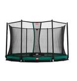BERG Trampoline Champion InGround 330 + Safety Net Deluxe Groen