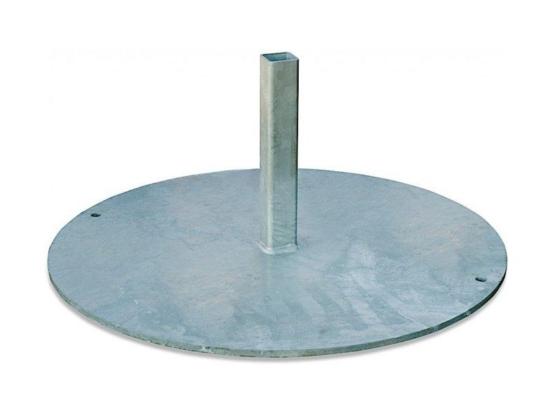 Korfbalpaal aluminium type 6 met korf