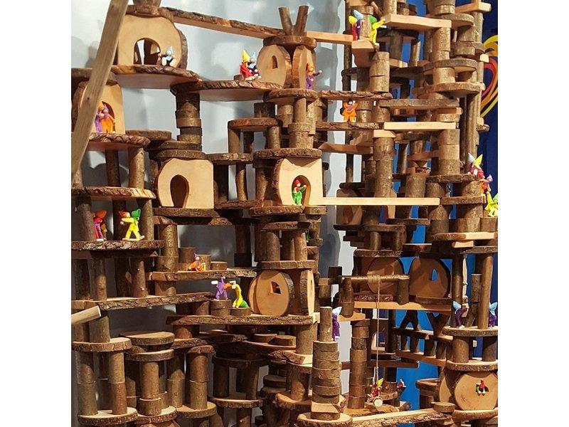 Olifu Ecoblocks Piraten Box, 330-delig
