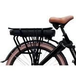 Vogue  E-bike bakfiets Carry tweewieler Middenmotor Black/Brown