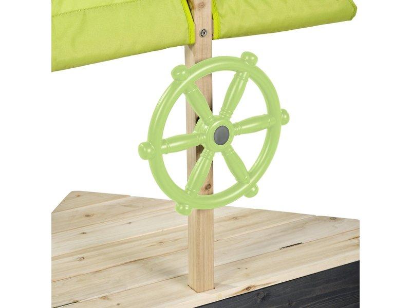 Aksent houten zandbak boot 190x90cm
