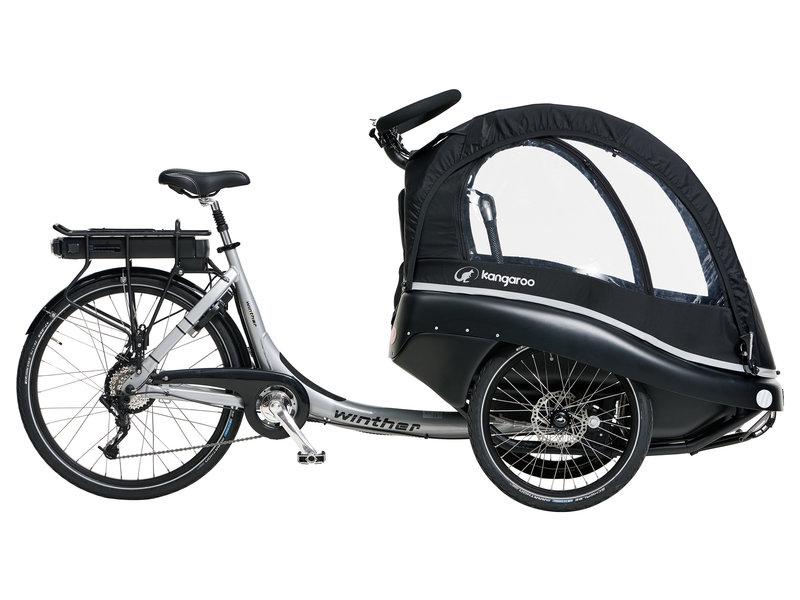 Winther Kangaroo Luxe elektrische bakfiets
