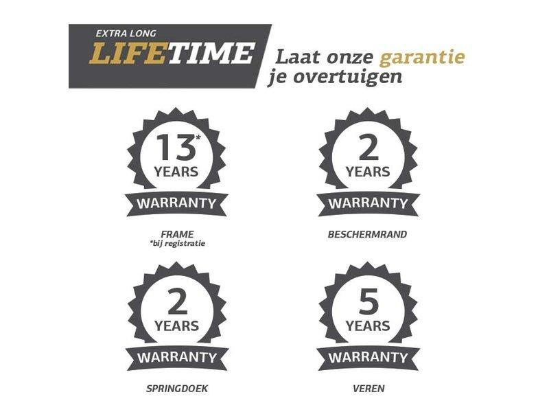 Bergamont Champion FlatGround Trampoline 430 Grijs (excl. veiligheidsnet)