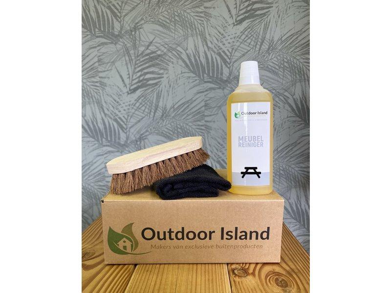Outdoor Island Douglas Picknicktafel Model F