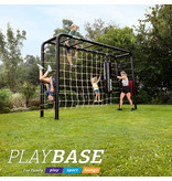 BERG Playbase 3-in-1 Medium met rekstok en ladder inclusief babyzitje en rubberen schommel