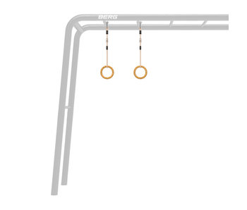 BERG Playbase accessoires houten turnringen