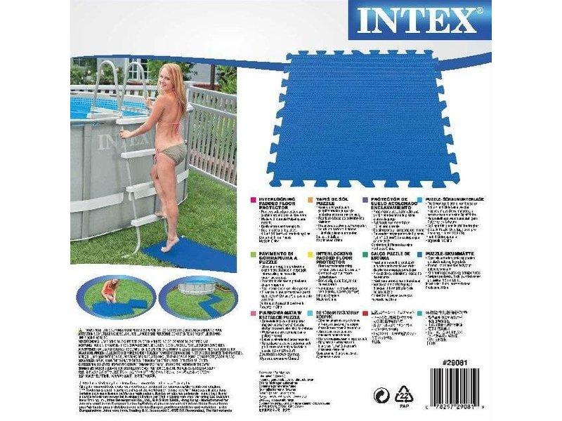 Intex Floor Protector tegels 8 stuks