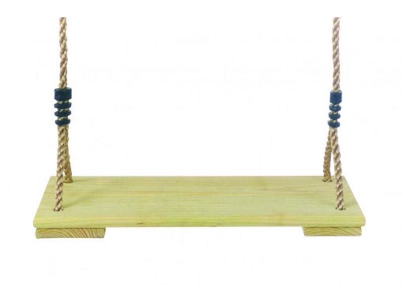 Schommelzit hout met PP touw