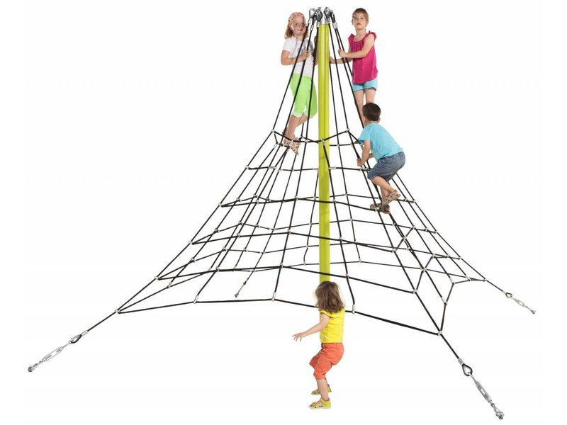 Piramidenet in gewapend touw - 2.7 m