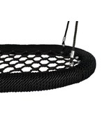 Nestschommel Oval Pro 120 cm zwart openbaar gebruik