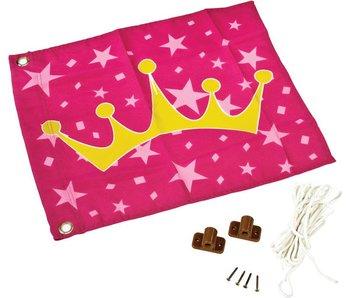 Vlag met hijssysteem - prinses