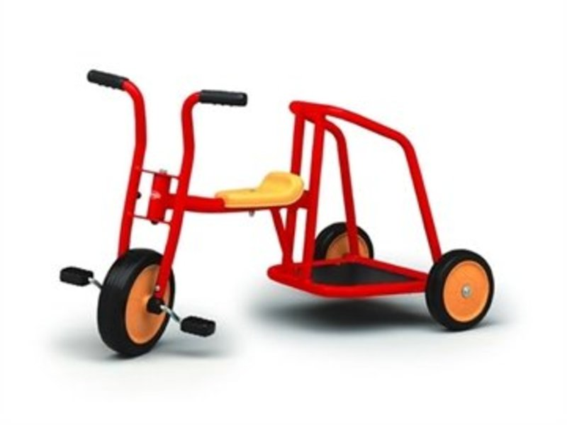 BERG Lorry driewieler rood
