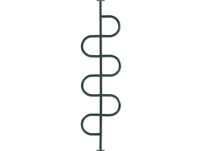 Metalen klimpaal - groen