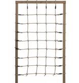 KBT polyhemp klimnet PH12 - 1250 x 2000 mm - zijkanten met open lussen
