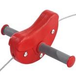 Kabelbaan - 'para' - rood 30 meter