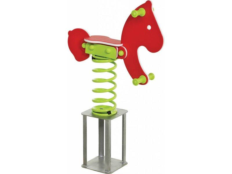 Wipkip HDPE 'essencials' (speeltuig, veer & betonanker) - pony