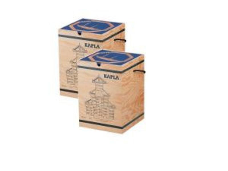 Kapla 2x 280 stuks met voorbeeldboek