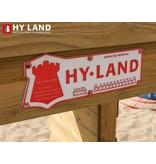 Hy-land speeltoestel Q2S - RVS glijbaan