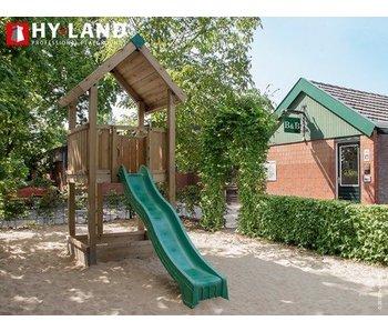 Hy-land speeltoestel P2 - Groene glijbaan