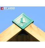 Hy-land speeltoestel P7S met schommel - RVS glijbaan