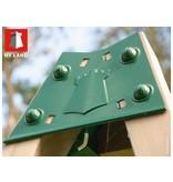 Hy-land speeltoestel P5S met schommel - RVS glijbaan