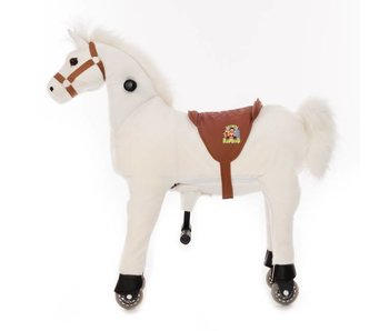 Animal Riding Paard Snowy Small Wit