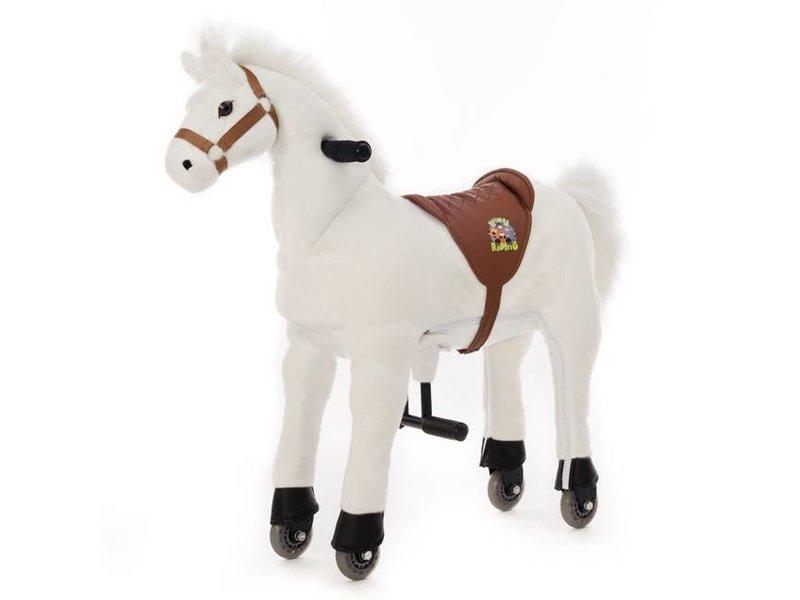 Animal Riding Paard Snowy Medium Wit