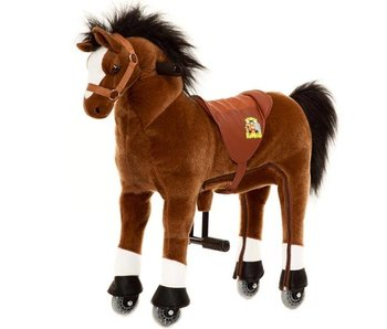 Animal Riding Paard Amadeus Medium Bruin