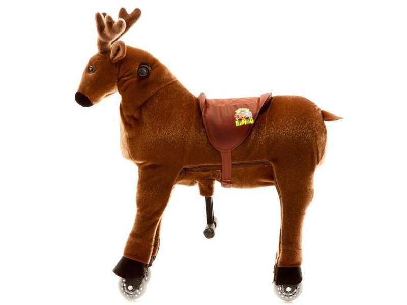Animal Riding Rendier Rudi Medium