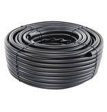 PVC buis voor kettingen/rol 100 m - diam. 25 mm - dikte 3 mm - zwart