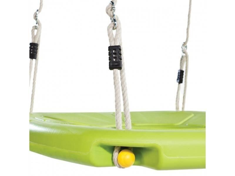 KBT nestschommel in geblazen kunststof 'squaro' - PH - limoen groen