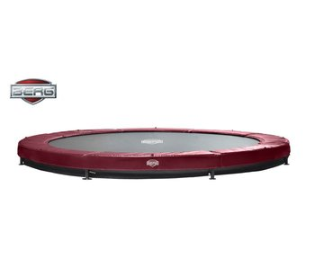 BERG Elite Inground Trampoline Rood Ø330