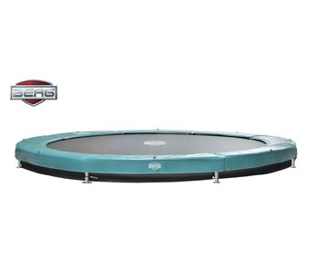 BERG Elite Inground Trampoline Groen Ø380