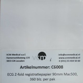 Z-fold registratiepapier Mac500
