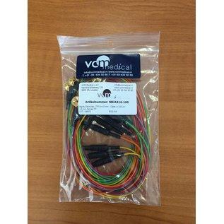 Ag/Au Electrode, LTM D=MM - Cable=100cm 1.5 mm Female TP