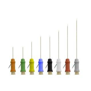 Bionen Botox Naald Electrode, Ø=0,41mm, L=25mm, kabel 100cm 1.5mm female TP - Groen