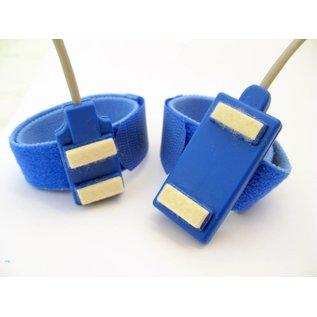 Bionen Bar Stimulating Electrodes, velcro band L =35cm, spacing 40mm, kabel L=150cm - 2mm male TP
