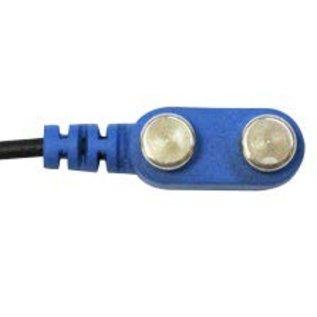 Bionen Bipolar Stimulating Electrodes, velcro band L=35cm, spacing 15mm, kabel L=150cm - 5 pole DIN
