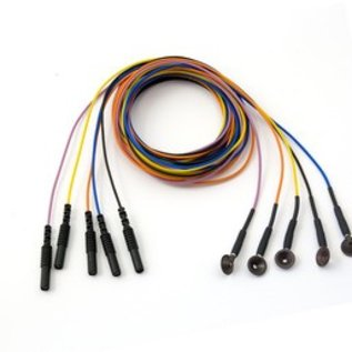 Bionen Reusable Cup Electrode, Ag/AgCI Ø10mm, Multi-color -100cm