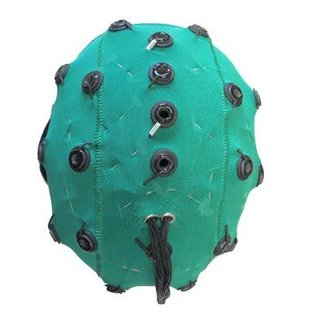 Bionen Headcap - 10 pre-wired Ag/AgCI Cylindrical internal - Maat 3 - 40cm c.c. - Pediatric  - Licht Blauw