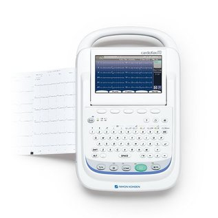Nihon Kohden ECG-2350 Cardiofax M - 6/12 kanalen interpretatie cardiograaf