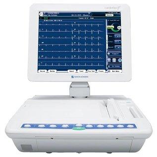 Nihon Kohden ECG-2550 Cardiofax G - 12/15 kanalen interpretatie cardiograaf