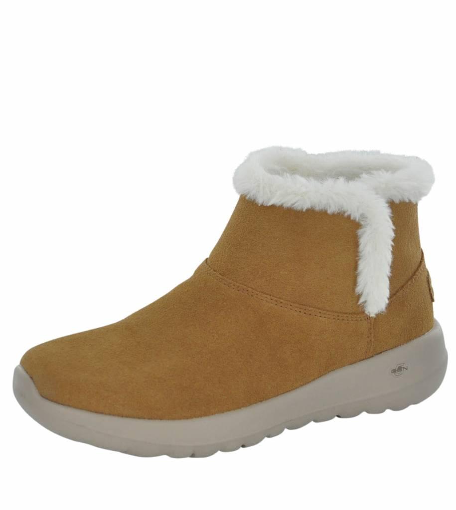 skechers fur boots