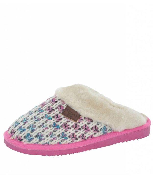 Jo & Joe Jo & Joe Pink Candy Women's Slippers