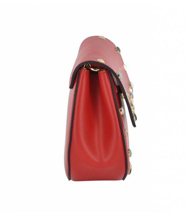 Toscanio Toscanio Carla 16200 Women's Leather Hand Bag