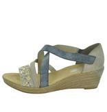 Rieker Rieker 62405 Women's Wedge Sandals